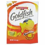Goldfish Crackers Single Serve Bags, Cheddar, 72 Bags (PPF13539)