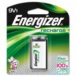 Energizer e² NiMH Rechargeable Battery, 9 Volt, 1 Each (EVENH22NBP)