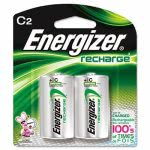 Energizer e² NiMH Rechargeable Batteries, C, 2 Batteries/Pack (EVENH35BP2)