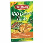 Emerald 100 Calorie Pack Walnuts and Almonds, .56 oz Packs, 7 Packs (DFD54325)