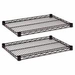 alera-industrial-wire-shelving-extra-wire-shelves-black-2-shelves-alesw582418bl