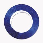 "Cosco Art Tape, Blue, Gloss Finish, 1/4"" x 324"", 1 Each (COS098076)"
