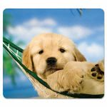 fellowes-recycled-mouse-pad-nonskid-puppy-in-hammock-fel5913901