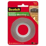 scotch-exterior-weather-resistant-double-sided-tape-1-x-60-gray-wred-liner-mmm4011