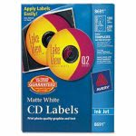 avery-ink-jet-cd-dvd-disc-labels-matte-white-100-pack-ave8691