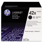 hp-42x-2-pack-high-yield-black-original-laserjet-toner-cartridges-hewq5942xd