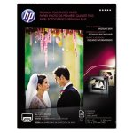 HP Premium Plus Glossy Photo Paper, 80 lbs., 8-1/2 x 11, 25 Sheets (HEWCR670A)
