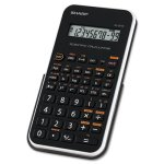sharp-el-501xbwh-scientific-calculator-10-digit-lcd-black-white-shrel501xbwh