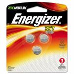 Energizer Watch/Electronic Battery, SilvOx, 1.5V, MercFree, 3/Pack (EVE357BPZ3)