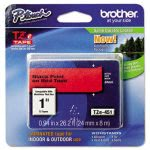 brother-p-touch-tze-standard-laminated-labeling-tape-black-on-red-brttze451