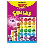 Trend Stinky Stickers Variety Pack, Smiles, 432 Stickers (TEPT83903)
