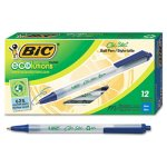 bic-ecolutions-ballpoint-retractable-pen-blue-ink-medium-dozen-biccsem11be