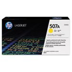 HP 507A, (CE402A) Yellow Original LaserJet Toner Cartridge (HEWCE402A)