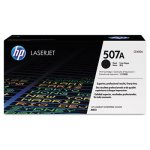 HP 507A, (CE400A) Black Original LaserJet Toner Cartridge (HEWCE400A)