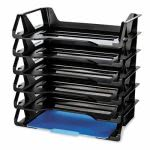 Officemate Recycled Desk Tray, Side Load, Letter, 6 Trays (OIC26212)