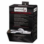"Anchor Brand Lens Cleaning Towelettes, 5 in x 8"", White (ANR70AB)"