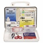 pac-kit-ansi-plus-25-weatherproof-first-aid-kit-143-pieces-plastic-case-pkt6430