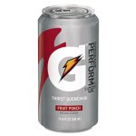 Gatorade Thirst Quencher Can, Fruit Punch, 11.6oz Can (GTD30903)