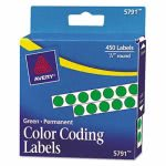 avery-permanent-self-adhesive-color-coding-labels-14in-dia-green-450pack-ave05791