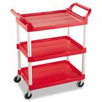 rubbermaid-342488-service-cart-with-3-shelves-red-rcp342488red
