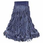 rubbermaid-swinger-loop-wet-mop-heads-blue-x-large-6-mops-rcpc154blu