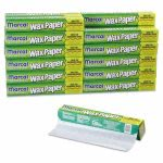 marcal-kitchen-charm-wax-paper-roll-11-910-x-75ft-white-12carton-mcd5016