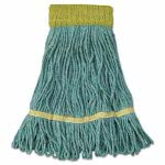 Boardwalk Super Loop Mop Head, Cotton/Synthetic, Small, 12 Mop Heads (BWK501GN)