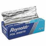Interfolded Foil Sheets, 12 x 10-3/4 Size, 3000 Sheets (REY 721)