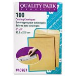 quality-park-catalog-envelope-6-x-9-brown-kraft-100-box-qua40767