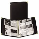 samsill-vinyl-business-card-binder-holds-200-2-x-3-12-cards-ebony-sam81080