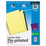 avery-gold-leather-tab-dividers-25-tab-a-z-letter-black-25set-ave11350
