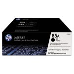 hp-85a-ce285d-2-pack-black-original-laserjet-toner-cartridges-hewce285d