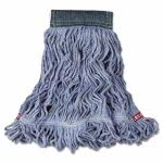rubbermaid-web-foot-wet-mop-cottonsynthetic-blue-medium-6-mops-rcpa152blu