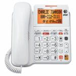 att-cl4940-one-line-corded-speakerphone-tilt-display-white-attcl4940