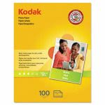 Kodak Photo Paper, Matte, 7 mil, 8-1/2 x 11, 100 Sheets/Pack (KOD8318164)