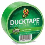 duck-colored-duct-tape-188-x-15-yds-3-core-neon-green-duc1265018