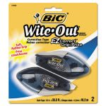 "Bic Wite-Out EZ Correct Grip Correction Tape, 402"", 2 Ribbons (BICWOECGP21)"