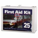 Pac-kit First Aid Kit for Up to 25 People, Contains 159 Pieces, Steel (PKT6086)