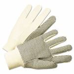 Anchor Brand 1000 Series PVC Dotted Canvas Gloves, Large, 12 Pairs (ANR 1005)