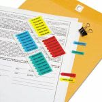 "Redi-tag Mini Arrow Page Flags, ""Sign Here"", 126 Flags per Pack (RTG72020)"