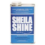 Sheila Shine Stainless Steel Cleaner & Polish, 4 Gallons (SSI4CT)