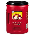 Folgers Ground Coffee, Classic Roast Regular, 48-oz. Can (FOL0529C)