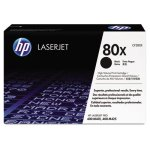 HP 80X, (CF280X) High Yield Black Original LaserJet Toner Cartridge (HEWCF280X)