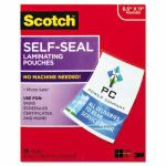 scotch-self-sealing-laminating-sheets-95-mil-25-per-pack-mmmls85425g