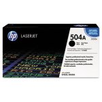 HP 504A, (CE250A) Black Original LaserJet Toner Cartridge (HEWCE250A)