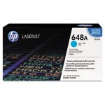 HP 648A, Cyan Original LaserJet Toner Cartridge for US Government (HEWCE261AG)