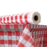 atlantis-plastic-table-cover-40-x-300-roll-red-gingham-atl2tcr300gin