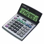 Canon BS-1200TS Desktop Calculator, 12-Digit LCD Display (CNM8507A010)