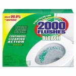 2000 Flushes Bleach Automatic Bowl Cleaners, 6 - 2 tablet pks/Ctn (WDC 290088)