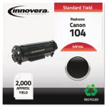 Innovera 104 Compatible, Remanufactured Toner, 2000 Yield, Black (IVR104)